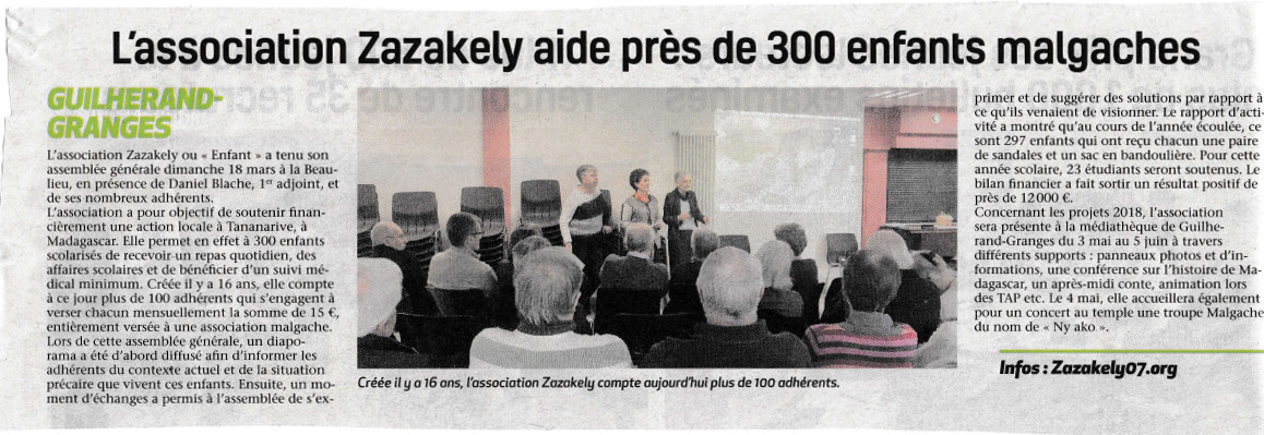 article journal Zazakely 1